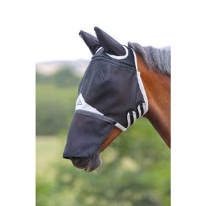 Shires Field Durable Fly Mask With Ears And Nose