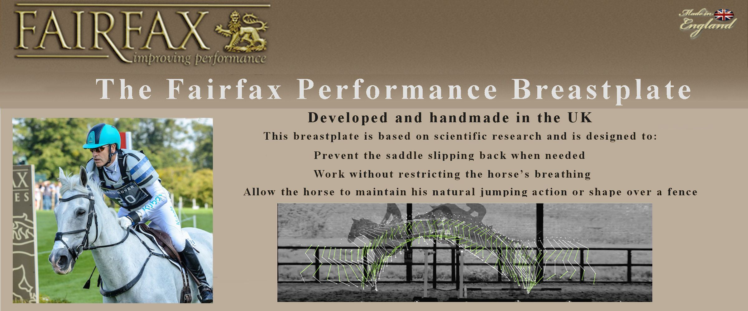 fairfax performance breastplate